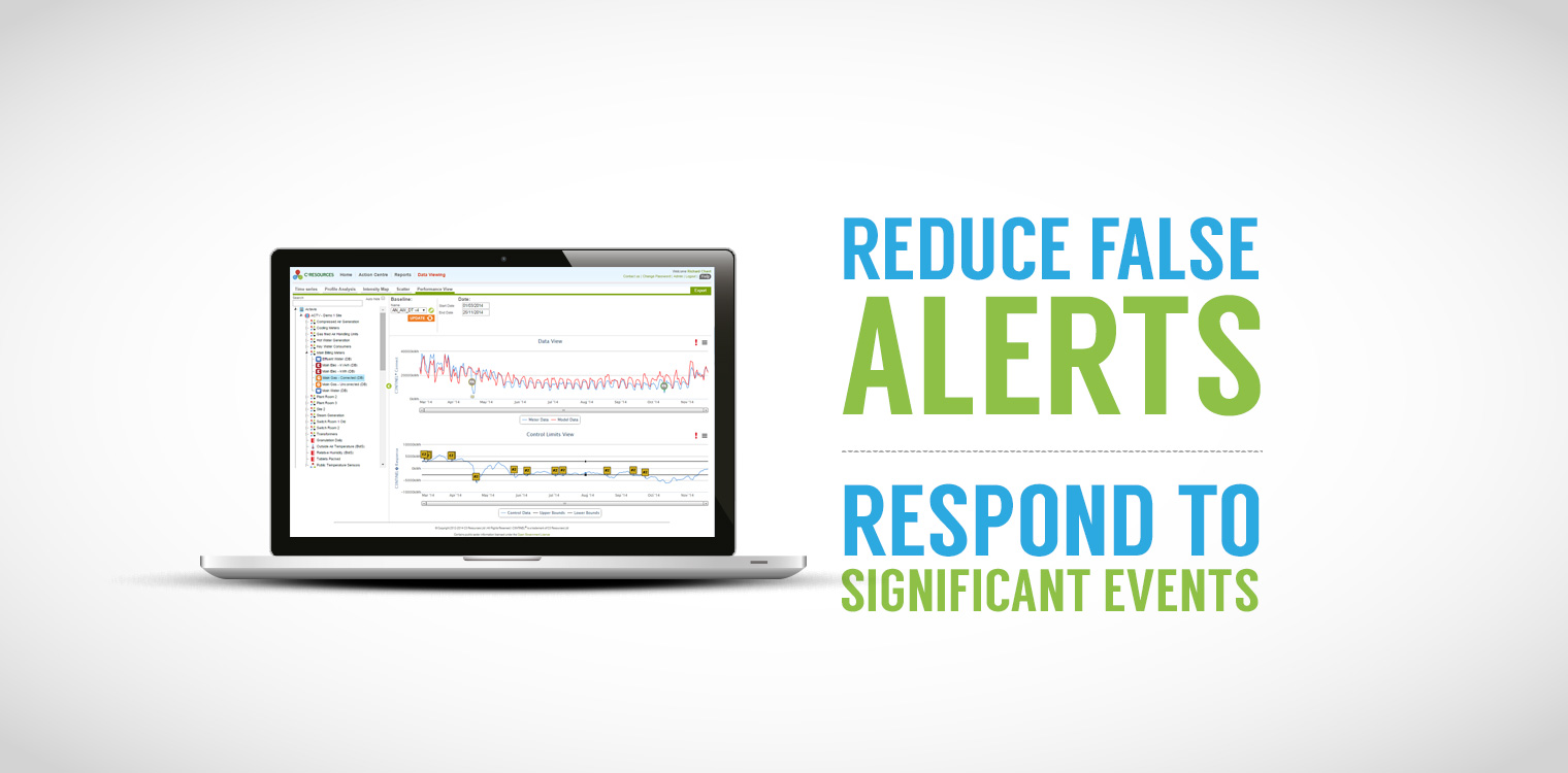 Reduce false alerts, respond to significant events